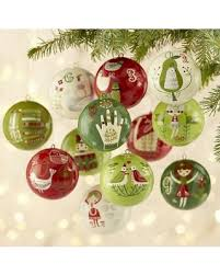 christmas ornaments sale on sale now 60 crate barrel 12 days of christmas ornaments