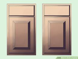 How To Clean Kitchen Cabinet Doors How To Build A Cabinet 15 Steps With Pictures Wikihow
