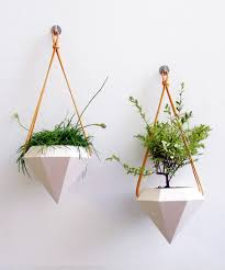 Modern White Planter by Modern Hanging Planters Home