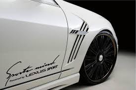 lexus emblem black amazon com sports mind powered by lexus sport racing decal