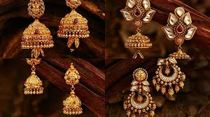 gold earrings design with weight gold earrings designs for daily use in light weight flickr
