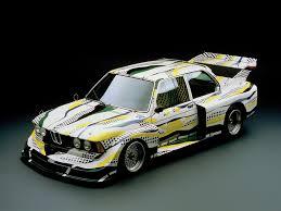 bmw car racing bmw car 03 roy lichtenstein united states 1977 bmw 320i