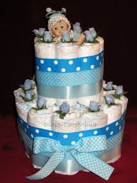 Baby Boy Shower Centerpieces by Baby Boy Shower Cake Baby Shower Its A Boy Brown Baby Blue Cake