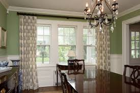 dining room curtain complete dining room window treatment ideas design traditional