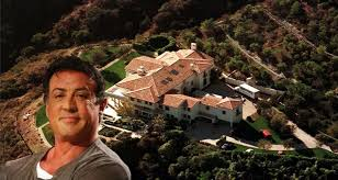 sylvester stallone u0027s house 2015 inside u0026 outside the male