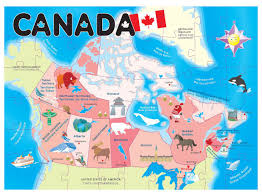 Map Of Canada Provinces Map Of Canada Provinces For Kids You Can See A Map Of Many