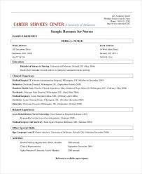 Nurses Resume Format Samples by 51 Resume Format Samples