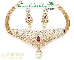 gold stones necklace images 18k gold choker diamond necklace earrings set with colored stones jpg