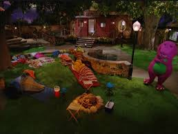 Barney And The Backyard Gang Episodes The Sleepless Sleepover Barney Wiki Fandom Powered By Wikia