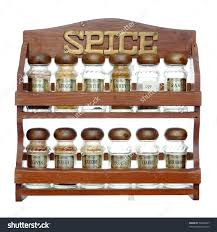 furniture fascinating wooden spice rack for kitchen furniture
