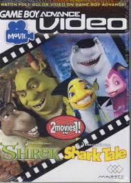 shrek shark tale 2 1 video nintendo game boy advance