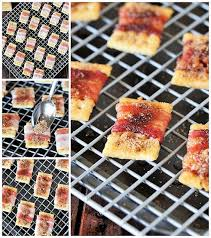 Please Meet My Kitchen Work by Sweet U0026 Spicy Bacon Crackers The Kitchen Is My Playground