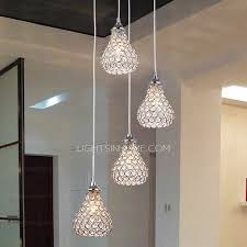 bathroom pendant lighting ideas modern 4 light octagon bead bathroom pendant lights