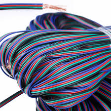 4 pin rgb extension wire cable cord for 3528 5050 rgb led strip
