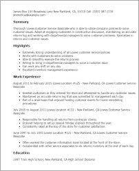 customer service resumes templates resume template and