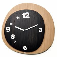 medusa wall clock u2013 designer wooden clock