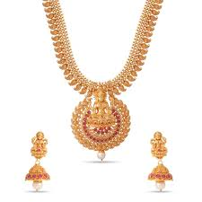 pink necklace set images Temple jewelry pink stone matt kundan long necklace set c10765 jpg