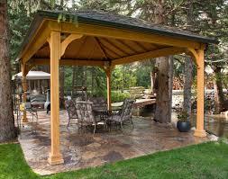 Backyard Pavilion Plans Home Outdoor Decoration