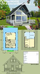cabin plans with loft colorado cabin plan h235 1260 sq ft 1 bedroom bath main 600 house