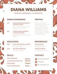 Innovative Resume Creative Resume Templates Canva