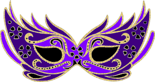 purple masquerade mask clip at clker vector clip