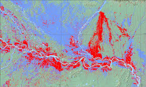 flood map floods cover bihar india image of the day