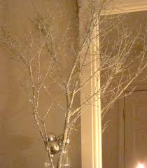 Holiday Decorating Video Making Sparkly Branches