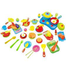 set de cuisine enfant vococal 60pcs cuisine jouets pour enfant jouets en plastique