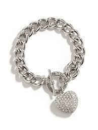guess bracelet silver images Guess factory women 39 s women 39 s silver tone rhinestone jpg