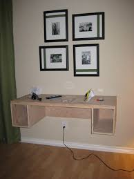 Wall To Wall Desk Diy by C R A F T 71 Suspended Desk Part 1 C R A F T