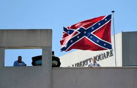 Flying The Flag Upside Down Confederate Flag Flown Next To Ncaa Arena During Arkansas Game