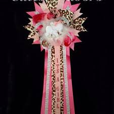 baby shower mums pink safari baby shower corsage from cutestfavors on etsy