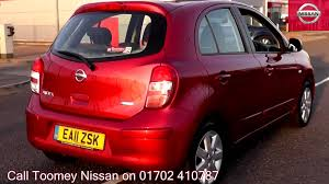 nissan micra nearly new 2011 nissan micra acenta 1 2l shiraz ea11zsk for sale at toomey