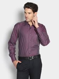buy louisphilippe men louis philippe men dark purple regular fit