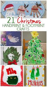 21 handprint and footprint crafts crafts
