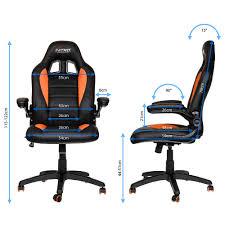 gamer stuhl kaufen nitro concepts c80 motion gaming stuhl schwarz orange