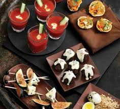 canapes and nibbles canapé recipes food