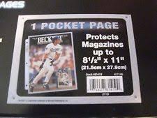 8 X 10 Photo Album 1000 Ultra Pro 1 Pocket 8 X 10 Album Binder Pages For 8 X 10