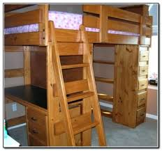 Bunk Bed With Desk And Trundle Desk Loft Bed With Desk And Dresser Bunk Bed With Desk