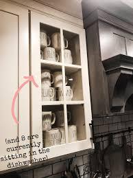 glass kitchen cupboard shelves display shelf organization how to organize kitchen display