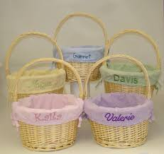 personalized easter basket liners personalized easter baskets