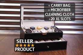 jewelry box 20 20 slot box sunglass storage watches
