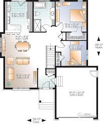 détail du plan de maison unifamiliale w3206 v1 trucs pinterest