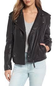 treasure bond leather moto jacket nordstrom