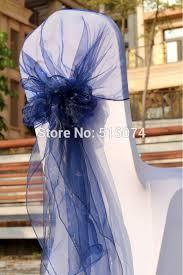 blue chair sashes 2017 65cm 275cm navy blue chair sashes bow cover banquet chair