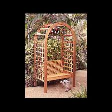 arching garden arbor downloadable plan wood magazine