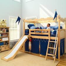 Bunk Bed Castle Maxtrixkids Camelot 7 Np Knights Castle W Slide Curtain