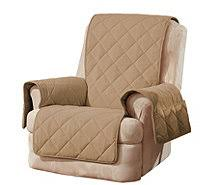 sure fit deluxe waterproof non skid back furniture cover recliner