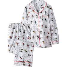 peanuts flannel pajamas from the vermont country store s