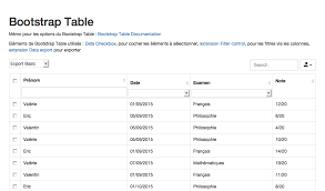 Bootstrap Table Width Bootstrap Table Filter Control
